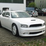 Dodge Charger Lackierung weiss