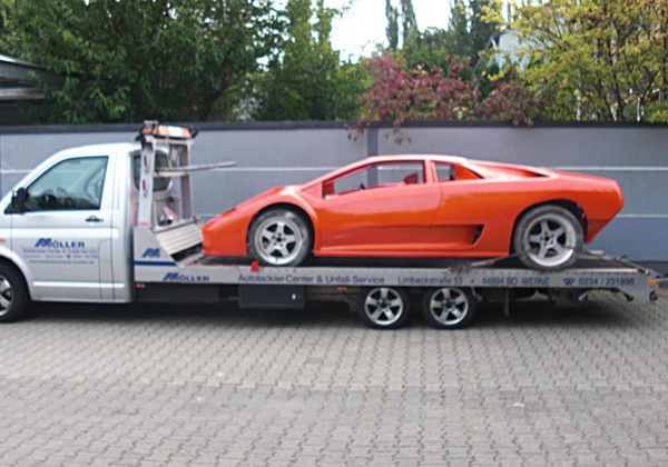 Lamborghini Replika Sonderlackierung orange