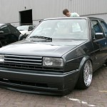 VW Golf 2 anthrazit