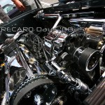 VW Golf 2 anthrazit Chrom Carbon Motor